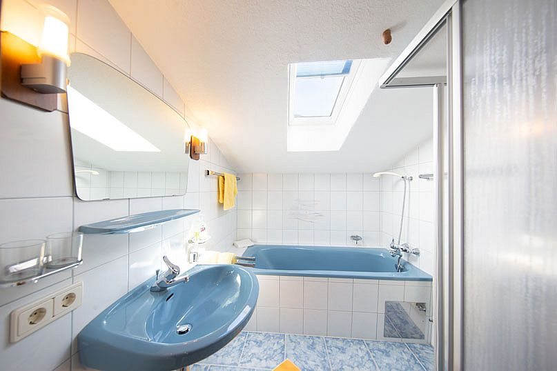 Badezimmer-Appartement-Ötztal