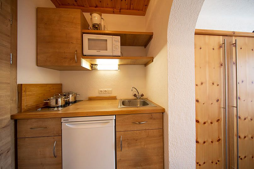 Alpenstern-Ferienwohnung-Küche