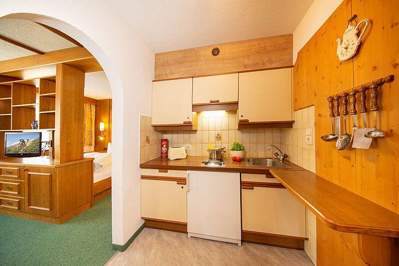 Alpenstern-Sölden-Appartement-Küche