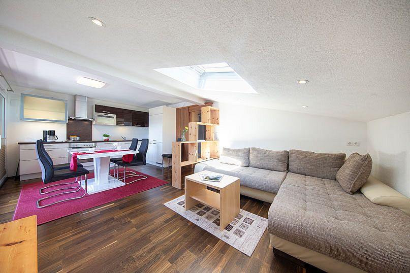 Alpenstern-Appartement-Wohnbereich